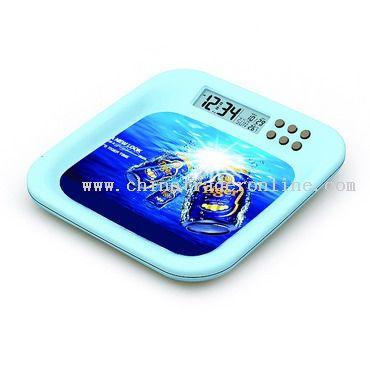 Stationary LCD clock from China