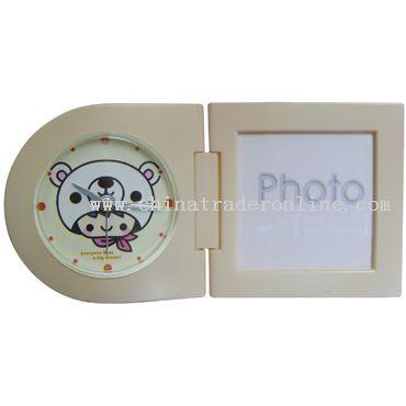 Mini Photo frame Alarm Clock