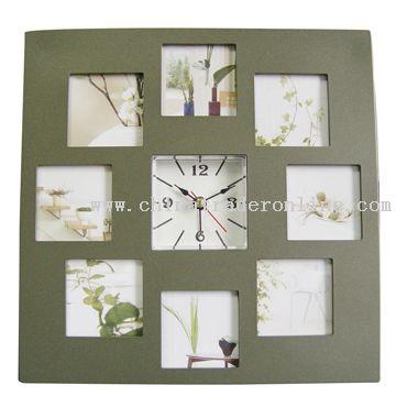 Photo Frame table alarm Clock