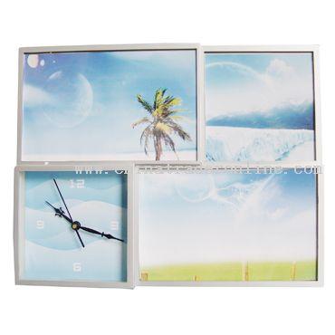 Photo-Frame Table Alarm Clock