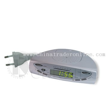 Kitchen FM Radio with LED Clock