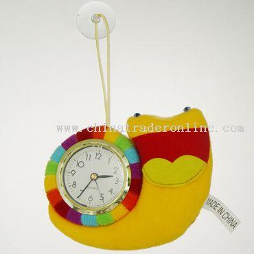 plush clock