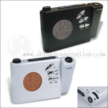 Radio Clock with Projection Function from China