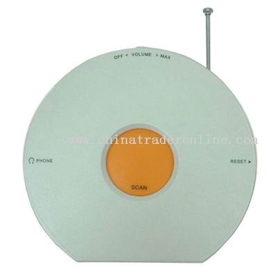CD-shaped Radio