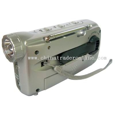 LED Torch Radio