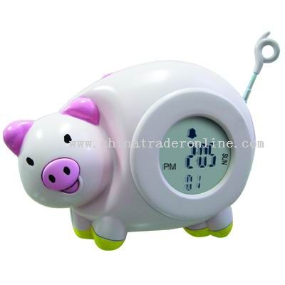 Piggy Coin Pot Radio