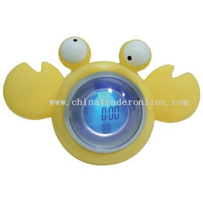Crab Cute Clock