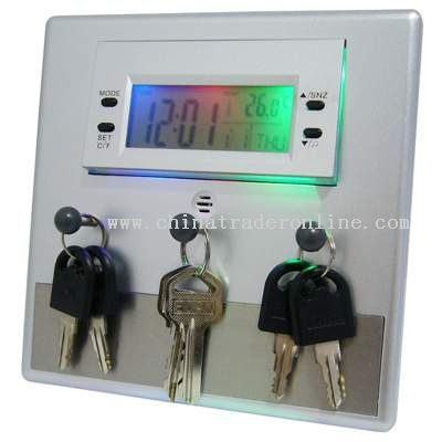 Key Holder Clock
