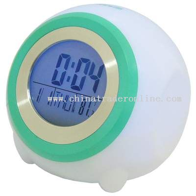 LCD Light Clock