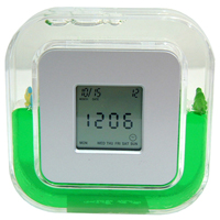 Rotating Aqua Clock