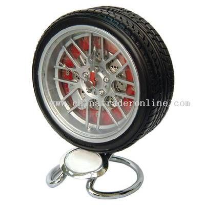 Tire Clock