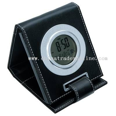 Wallet-shaped Clock