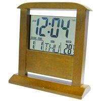 Wooden LCD Calendar Clock from China