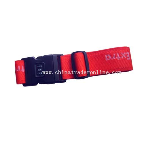 Luggage belt from China