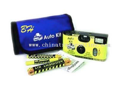 Accident bag camera