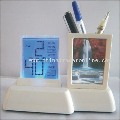 Penholder Calendar w/backlight