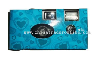 Preloaded with quality Europe Color Film inside disposable camera