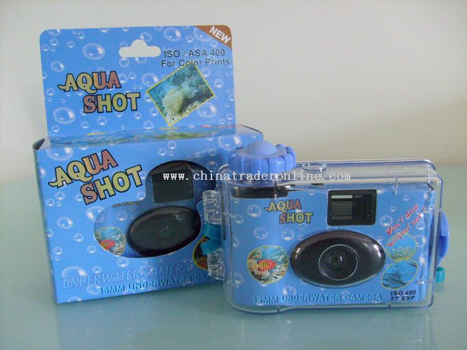 Waterproof camera w/o flash