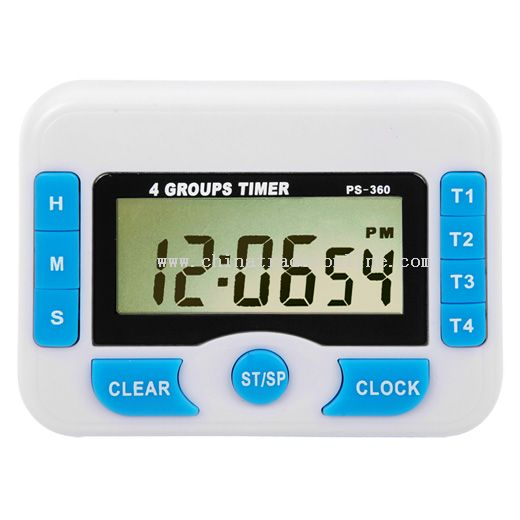 4 groups bell ring countdown timer from China