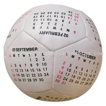 4-Inch Soccer Calendar