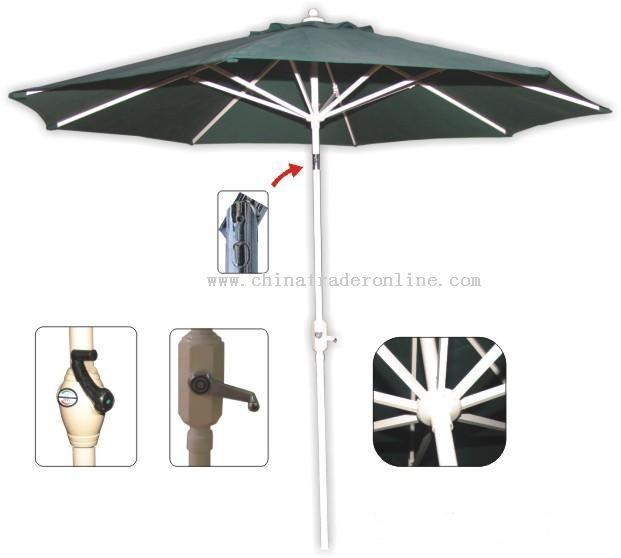 Aluminium Graden Umbrella