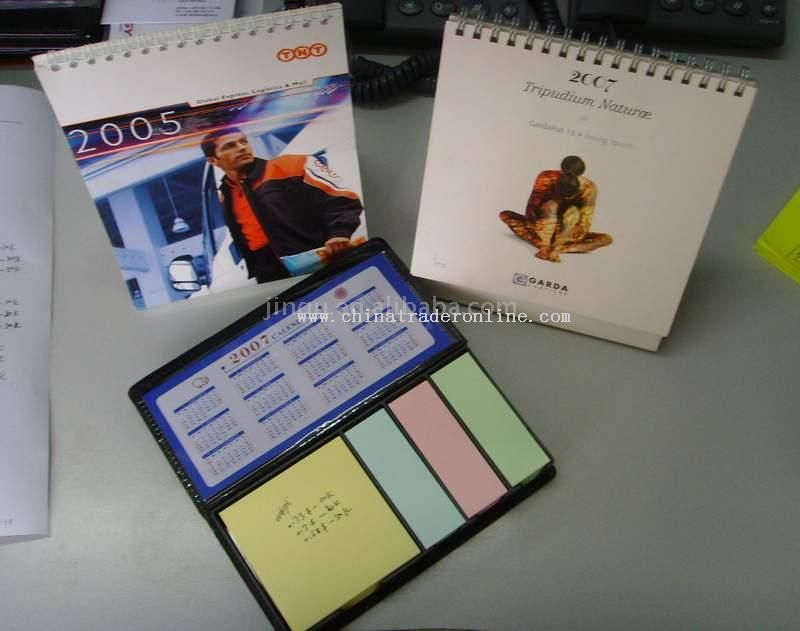 Desk Calendar from China