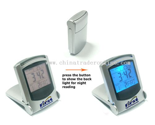 Multifunction Travel Clock