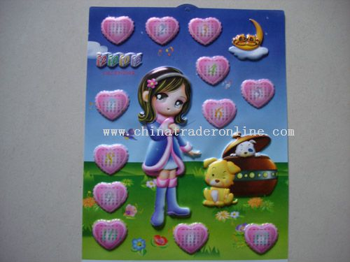 PP Wall Calendar from China