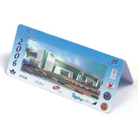 PVC Table Calendar from China