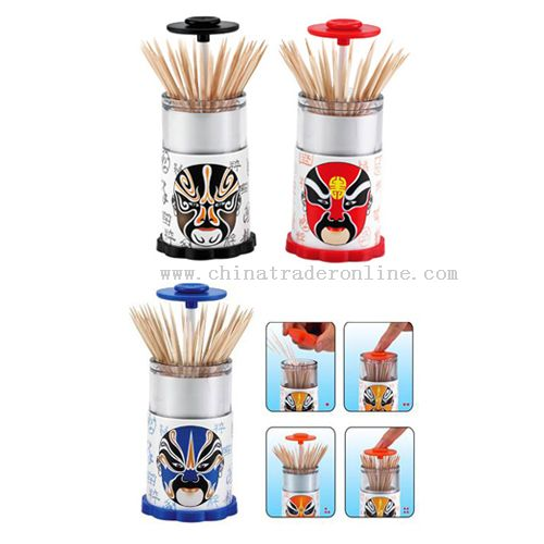 Automatic toothpick holder