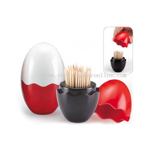 Fantastic toothpick egg