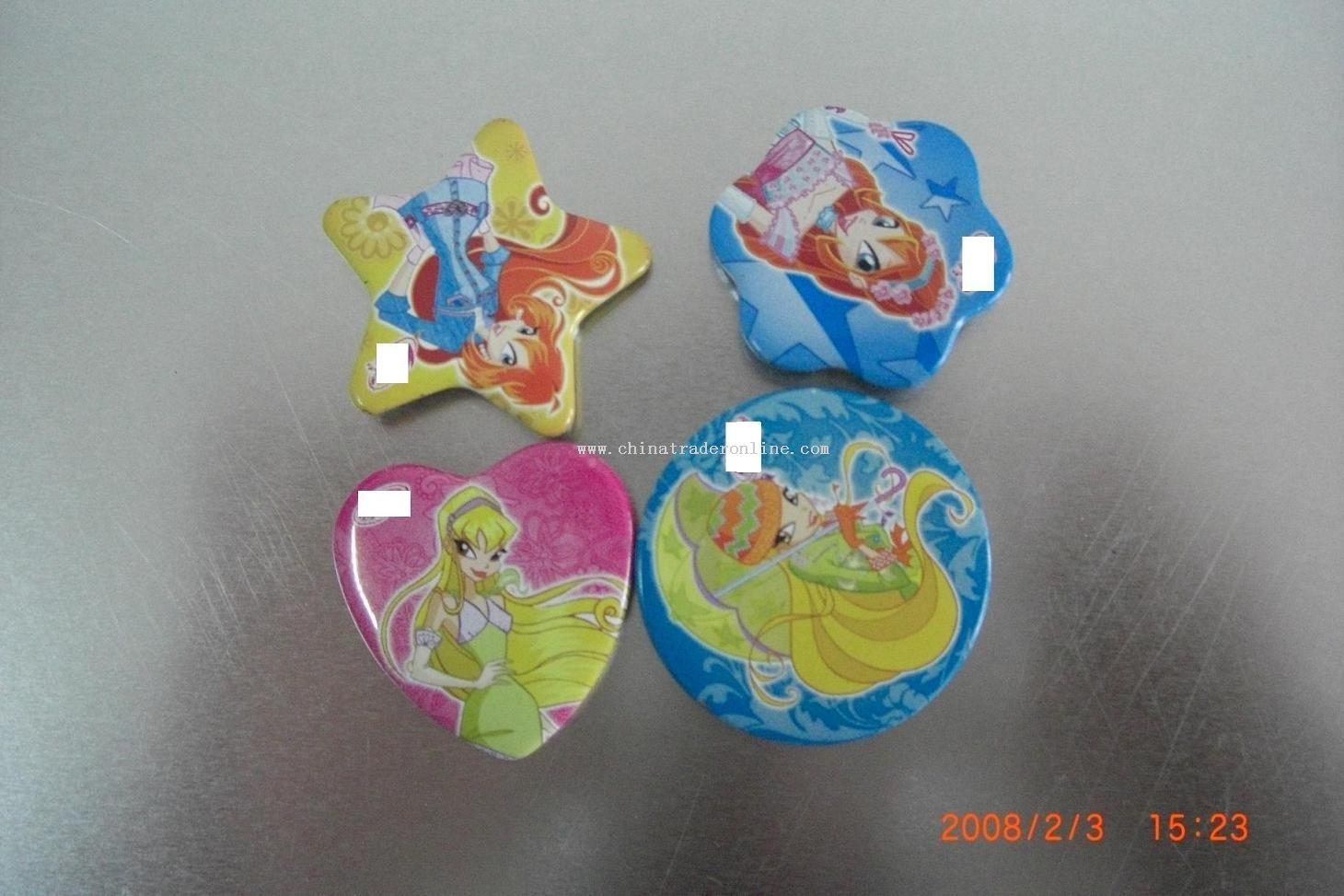 kinds of tin badge