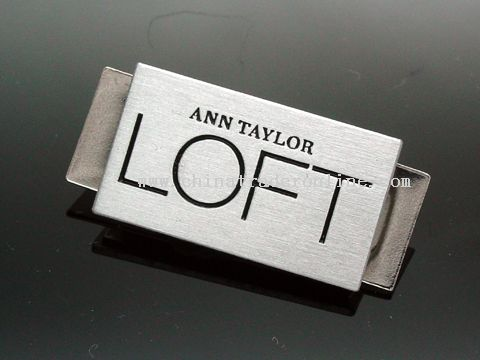 Name Badge from China