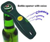 Talking Bottle Beer Opener
