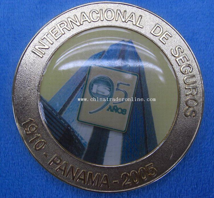 Zinc-alloy Medal