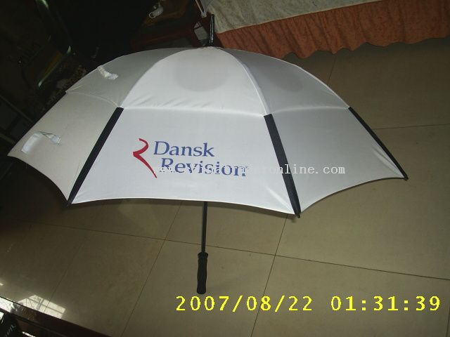 Storm Proof 2 Layer Golf Umbrella