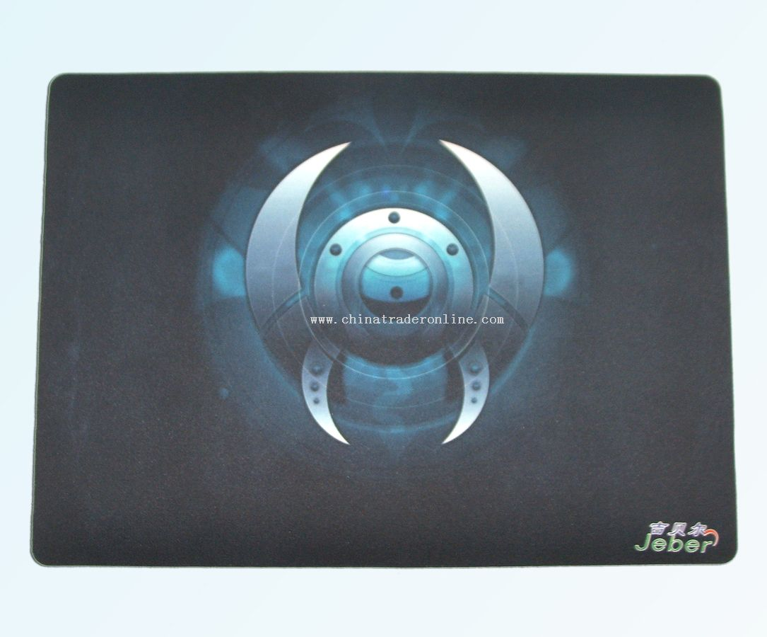 4C printed Desk mouse pad in Cylinder box
