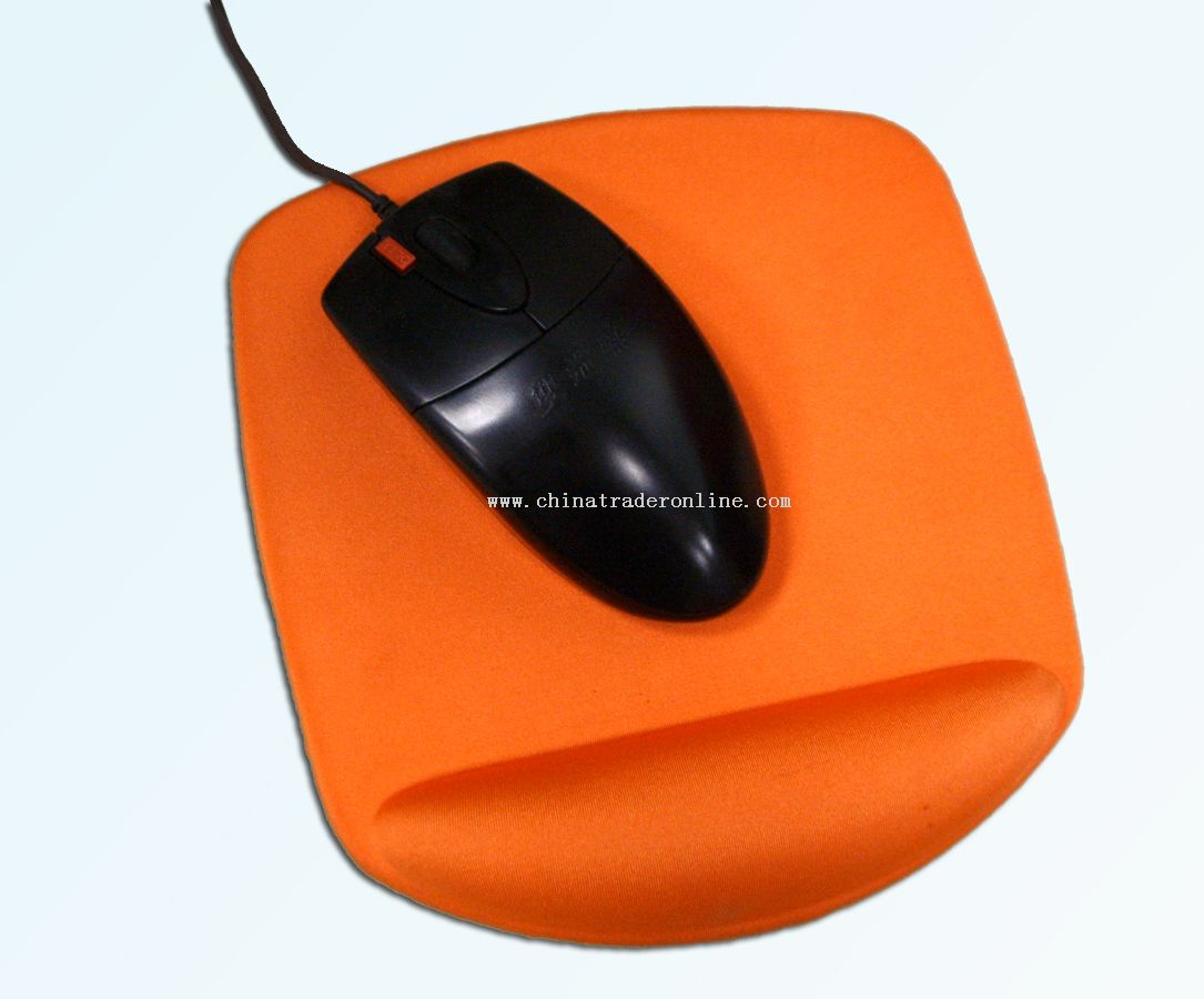 Small Special Cloth Top Gel Wrist Rest Mouse Pad
