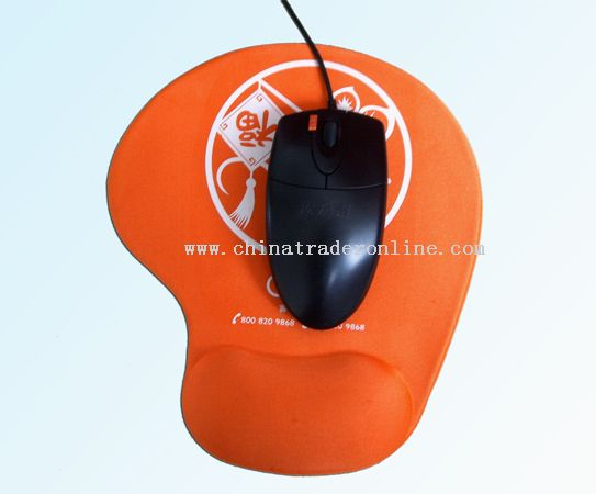TNT mouse pad from China