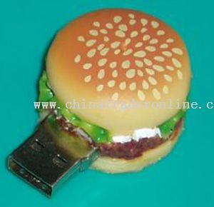 Hamburger Shape usb flash disk from China