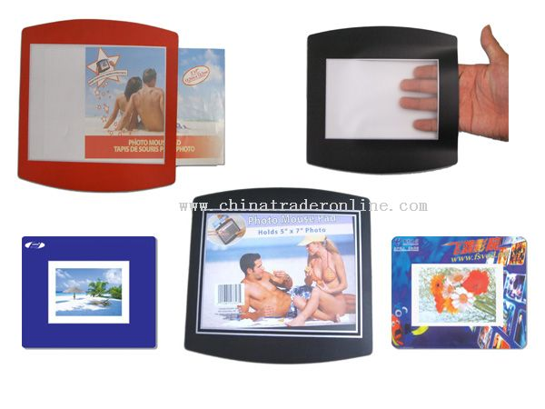 Photo Frame PVC mouse pad