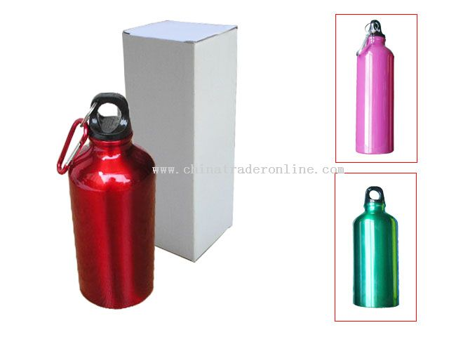 stock aluminum sport bottle