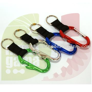 Aluminium Carabiner in various shapes from China