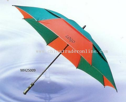 Strengthened wind-proof Golf umbrella