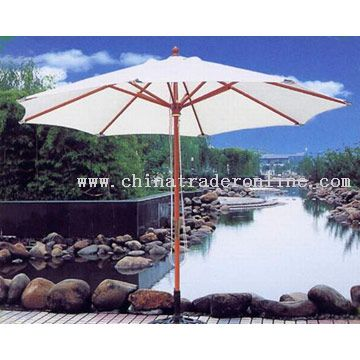 Galtech and Sun Garden Umbrellas - OUTDOOR CASUAL PATIO FURNITURE