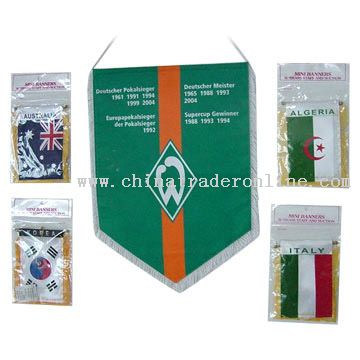 Polyester Banner Flag from China
