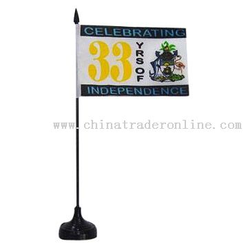 Polyester Table Flag
