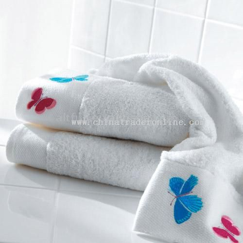 100% Cotton Embroidery face towel