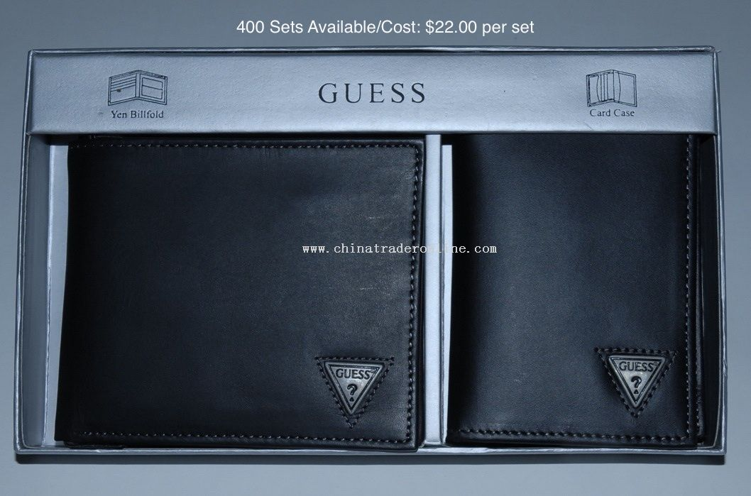 Wallet And Card Case Set