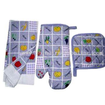 Kitchen Towel & Oven Glove